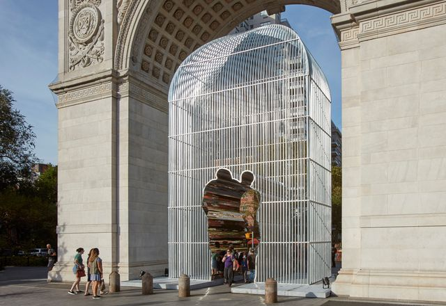 Arch, 2017, by Ai Weiwei.