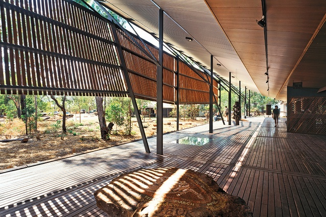 Bowali Visitors Information Centre in association with Glenn Murcutt, Kakadu National Park, NT, 1992–94.