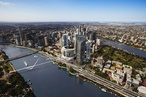 Revised designs for 'dramatic' Queen's Wharf bridge released