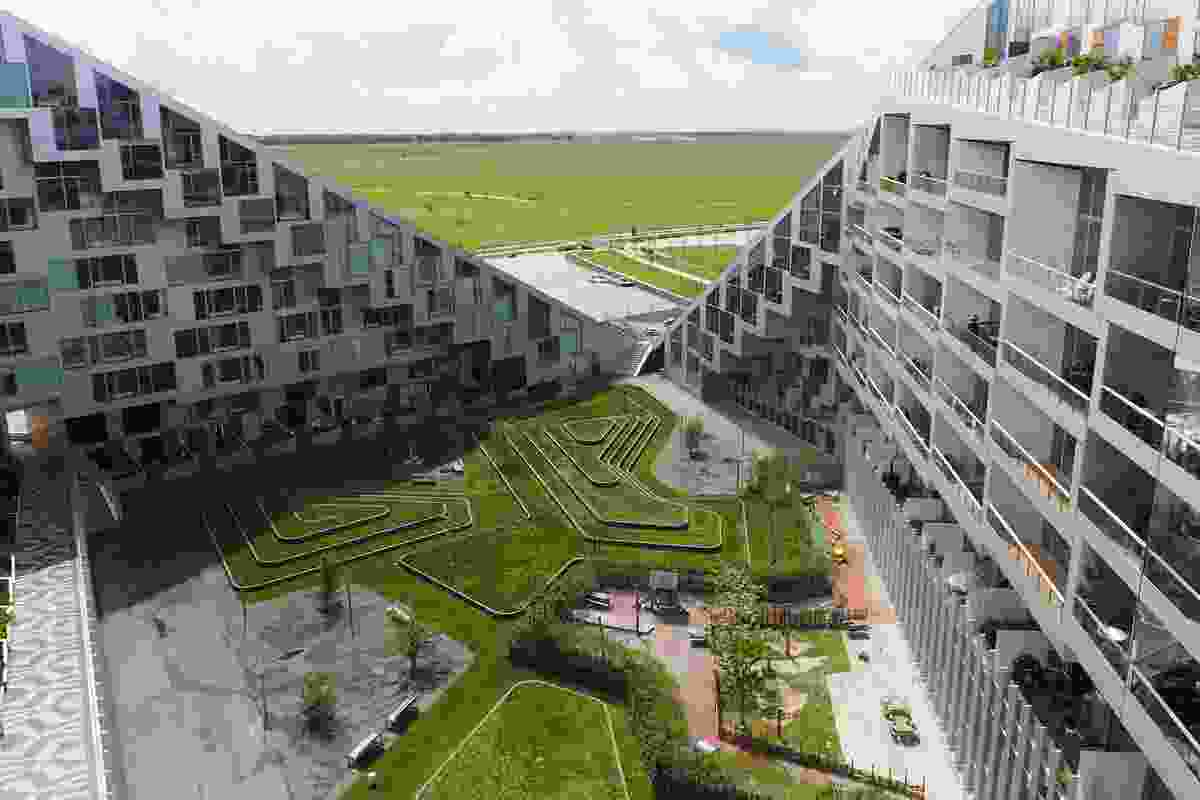 8 House by Bjarke Ingels Group, Ørestad, Copenhagen (2010).