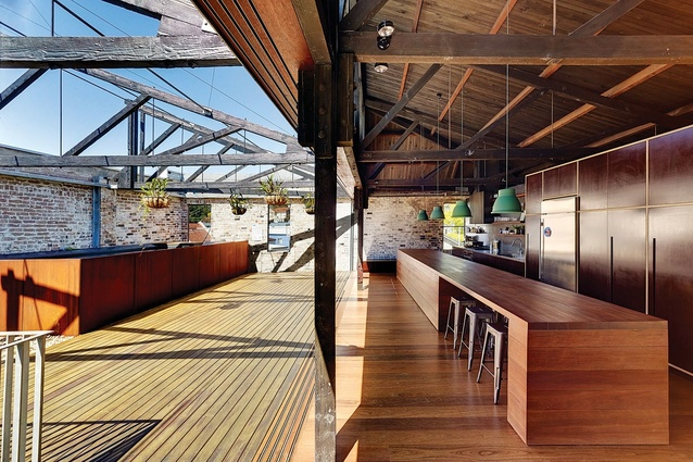Alteration and  Addition over 200m<sup>2</sup>/Outdoor: Lilyfield Warehouse by Virginia Kerridge Architect.