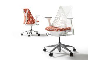 Sayl Chair in Ritual fabric.
