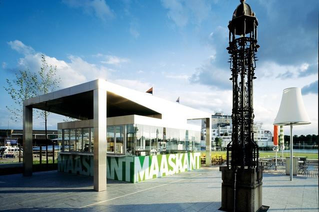 Maaskant-Pavillon, Hotel New York, Rotterdam, Netherlands, 2004.