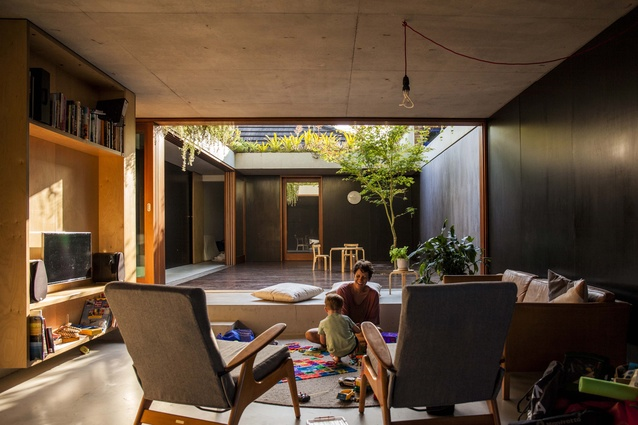 "Laneway House by Jon Jacka Architects offers an ""alternative future for an inner-city suburb."""