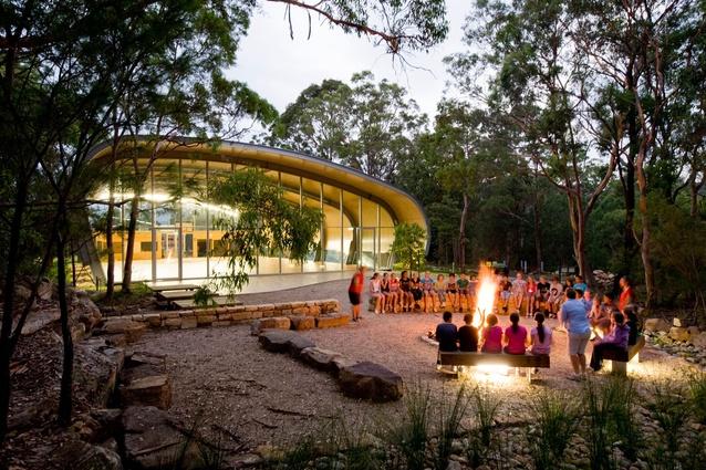 Milson Island Indoor Sports Stadium by Allen Jack+Cottier Architects.
