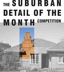 The Rexroth Mannasmann Collective's Surburban Detail of the Month Competition.