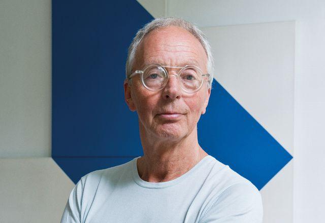 Dutch designer Gijs Bakker.