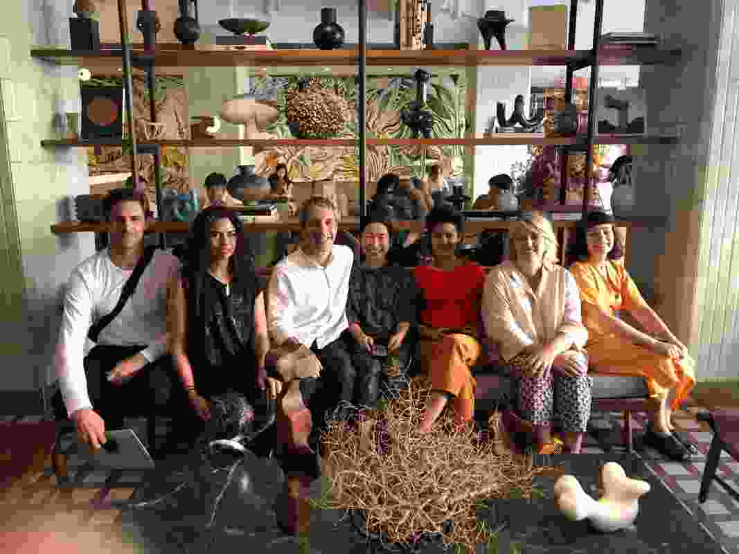 The Dulux DIAlogue on Tour group with Takenouchi Webb.