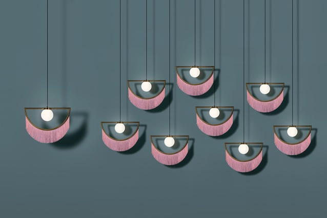 Wink ceiling light by Houtique.