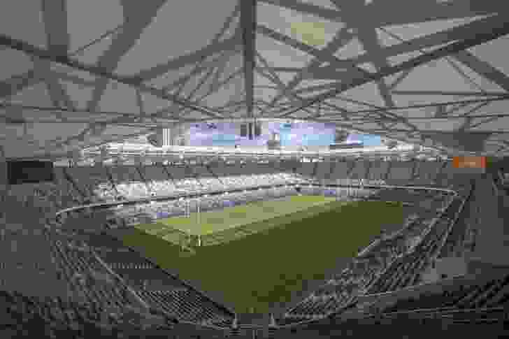 Western Sydney Stadium, designed by Populous.