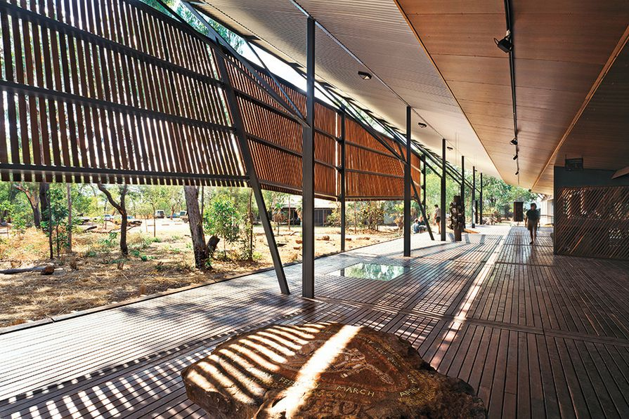 Bowali Visitors Information Centre in association with Glenn Murcutt, Kakadu National Park, NT, 1992–94.
