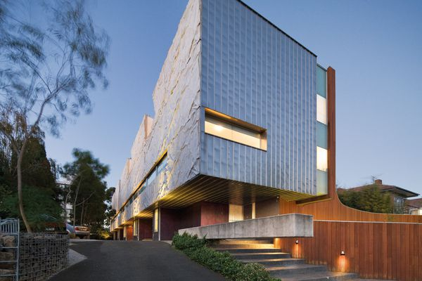 """The Wynnstay Road apartments seek to address some of the negatives of the typical """"six-pack"""" walk-up flat, such as ill-considered orientation and facades."""