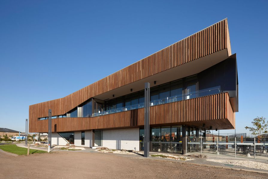 Commercial Exterior winner: Saltwater Coast Lifestyle Centre by NH.