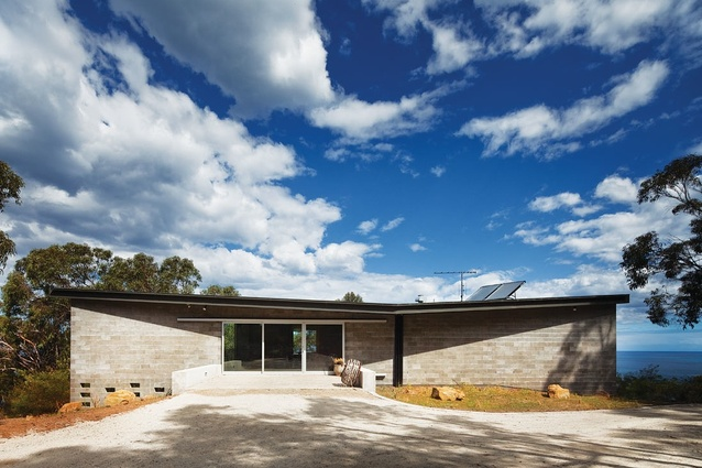 Residential Architecture Commendation – Big Hill by Kerstin Thompson Architects.