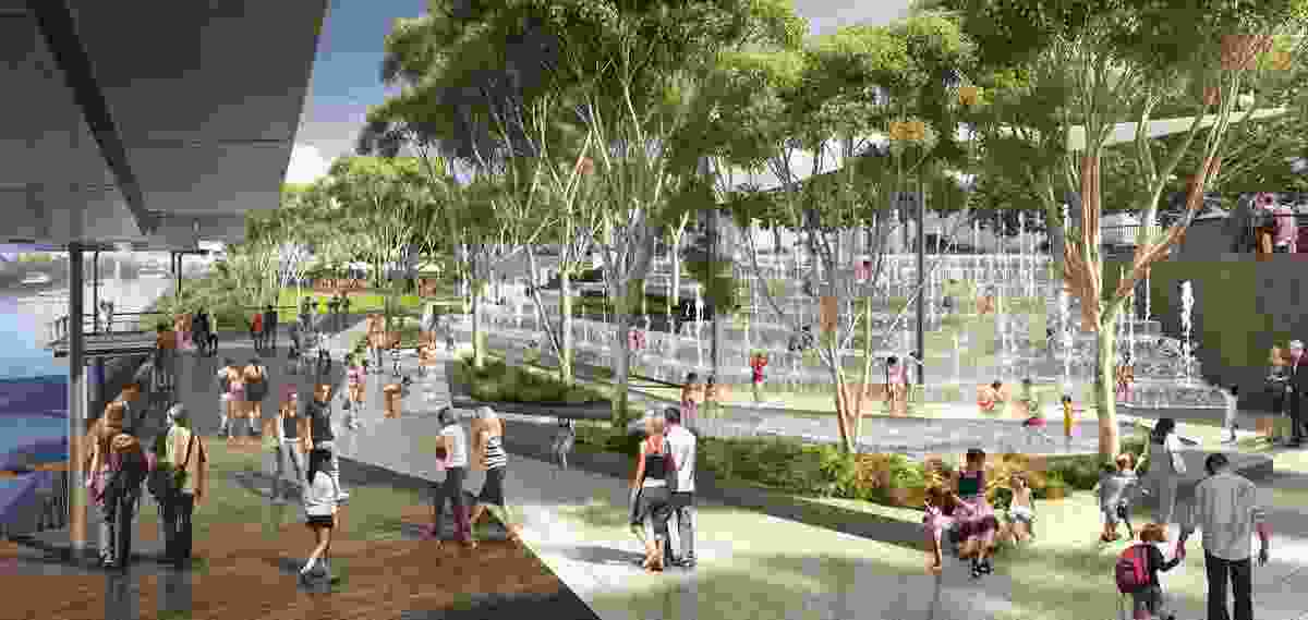 Rockhampton Riverside and CBD Redevelopment by Urbis.
