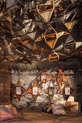 """Weaving Architecture"" by Benedetta Tagliabue, Joan Callís and Elena Nedelcu, Miralles Tagliabue EMBT (Spain, China)."