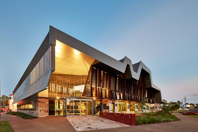 The New Kununurra Courthouse serves the small town of Kununurra in the Kimberley region of Western Australia.