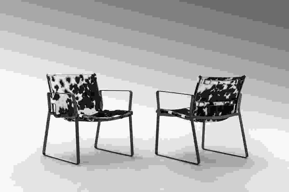 Blixen Lounge Chair from Fendi Casa.