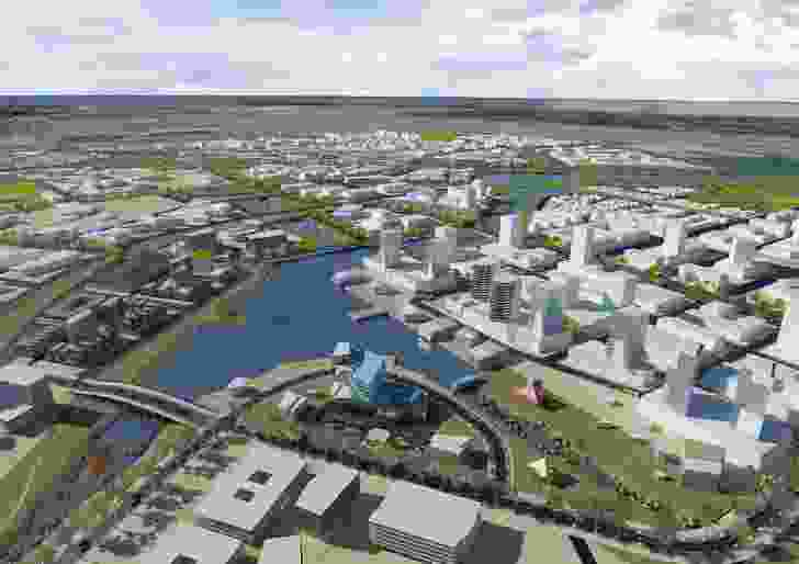 The Australian Education City will sit on a 400ha state-owned site previously used for agricultural experiments.