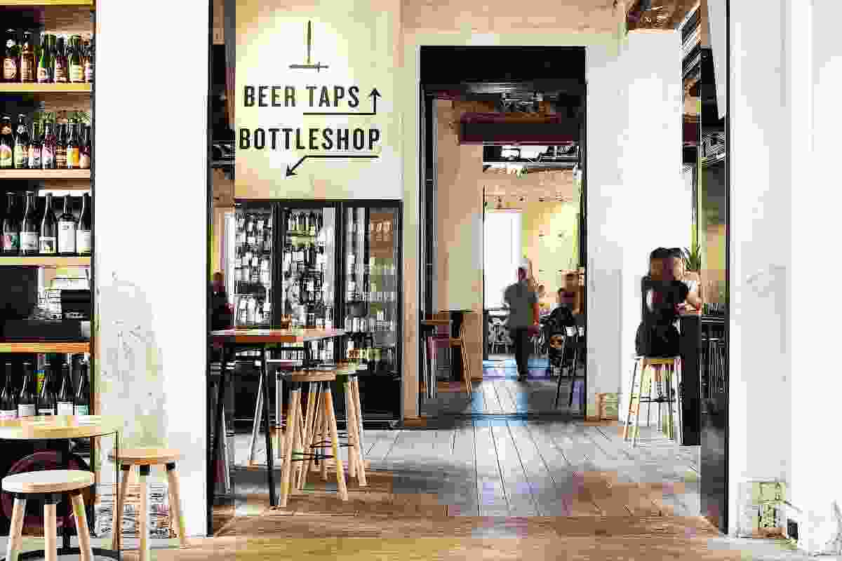 Petition Wine Bar & Merchant + Petition Beer Corner (Perth, Western Australia) by Spaceagency Architects