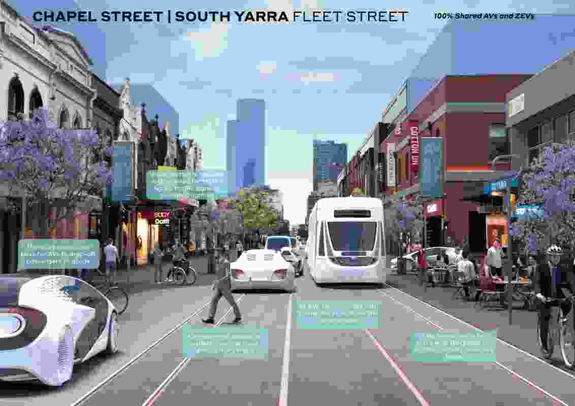 Automated and Zero Emission Vehicles: How They Might Reshape our Streets by Ethos Urban and Urban Circus