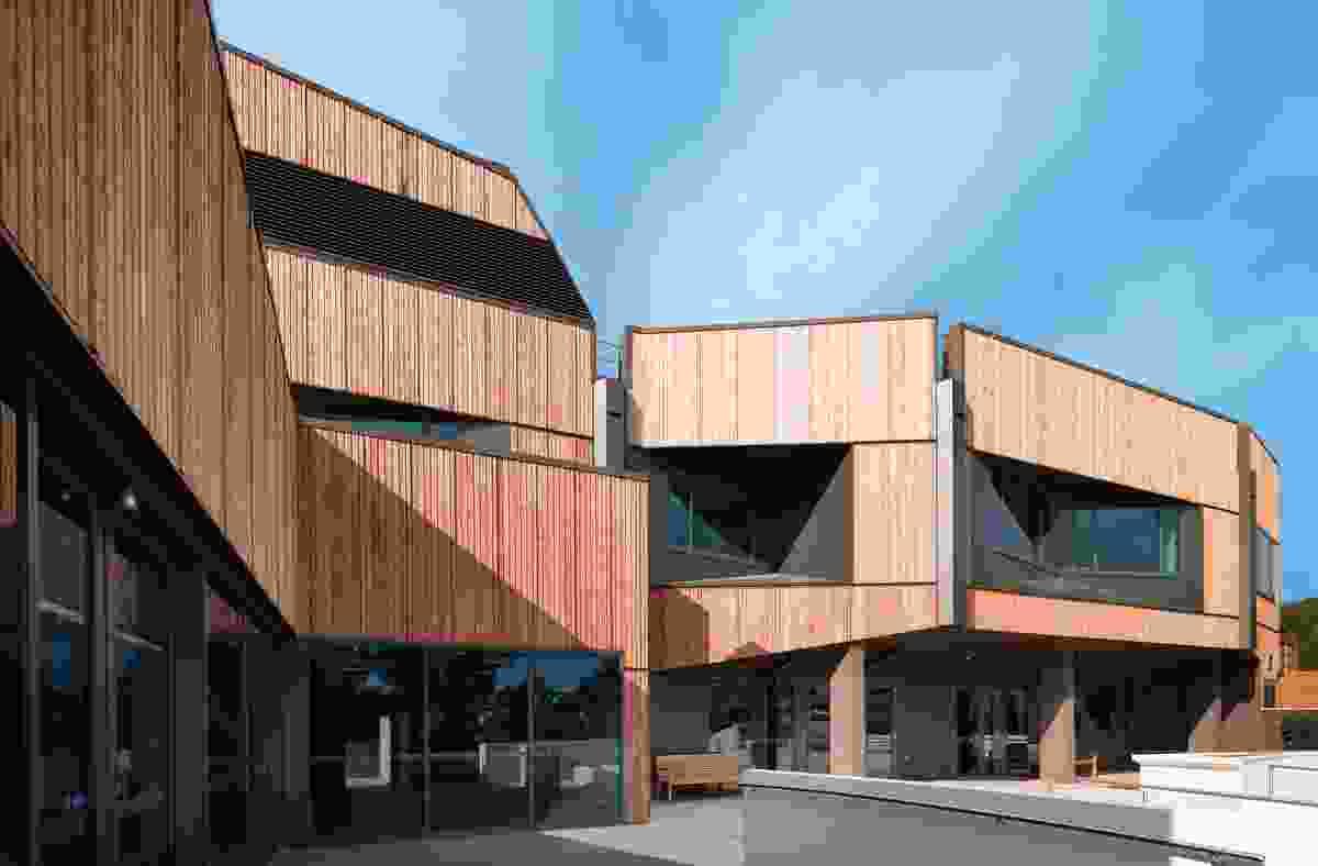 The Mornington Centre Stage 2 by Billard Leece Partnership.
