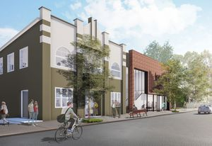 Haberfield Library and Community Hall by Lahznimmo.
