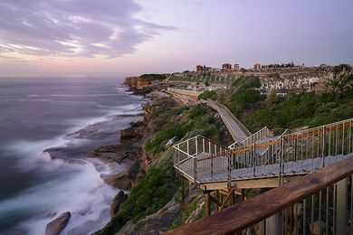Bondi to Bronte Coast Walk Extension by Aspect Studios.