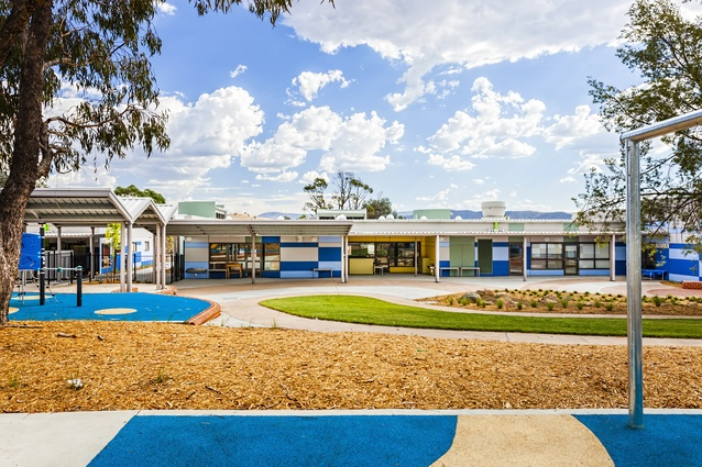 Taylor Primary School by Small Quinton Coleman Architects.
