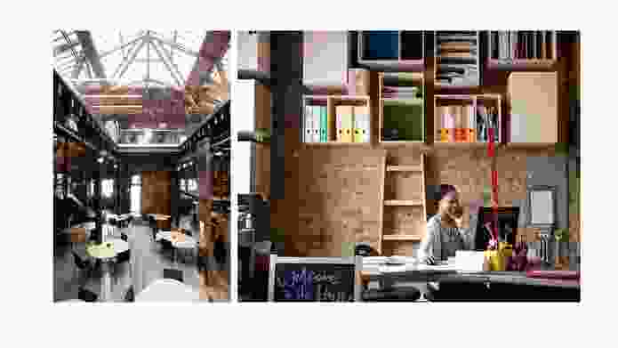 The Hub Kings Cross by Tilt; part of the global network of Hub coworking spaces.